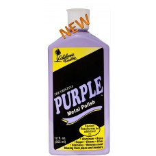California Custom Purple Metal Polish - 12 oz.