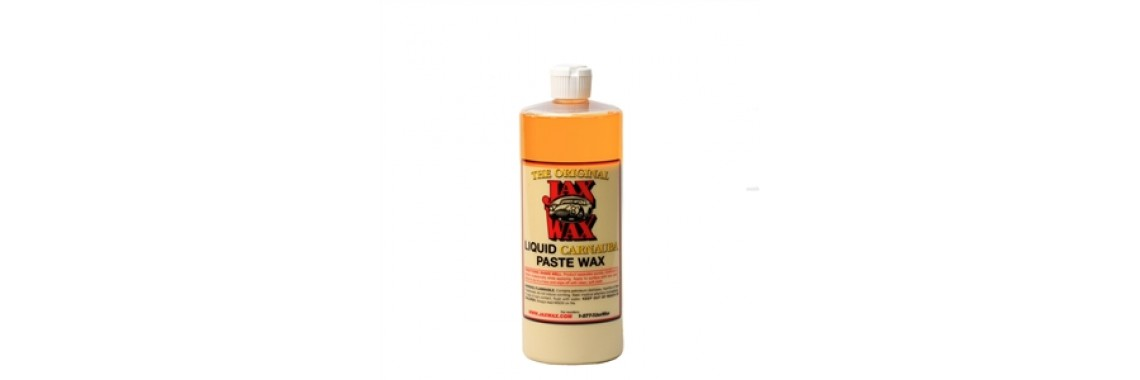 Jax Wax Liquid Carnauba Paste Wax