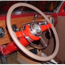 Wheelskins Genuine Leather Steering Wheel Cover - Oak One Color